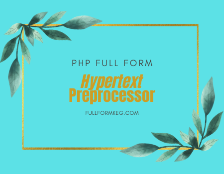 PHP-FULL-FORM